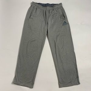 Adidas Silver Grey Long Sweatpants Bottoms